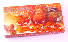 HazerBaba Apricot Almond Turkish Delight