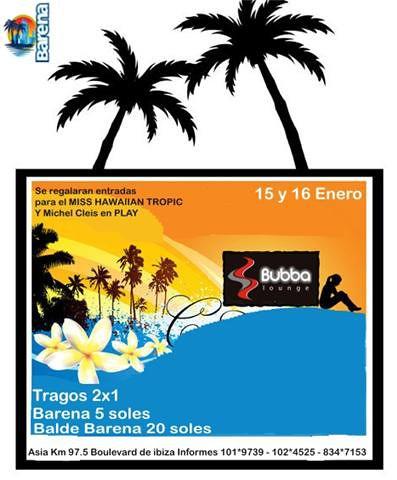 Inauguración Bubba Lounge - Boulevard Ibiza