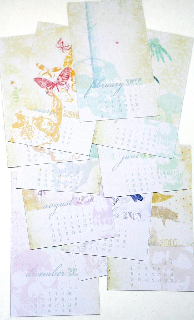 Skullified calendar 2010