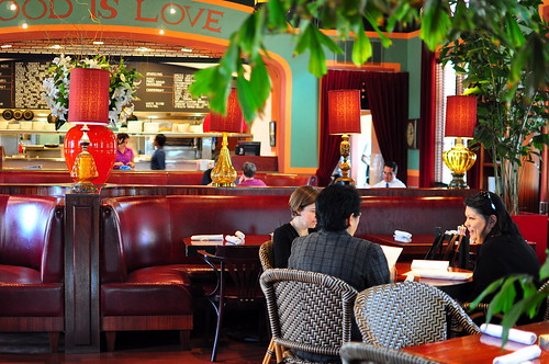 LE GRANDE ORANGE CAFE INTERIOR
