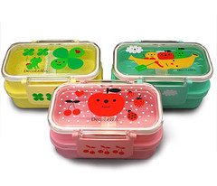 2 Deck Bento/Lunch Set (Kawaii for You) Tags: cute japanese kawaii lunchbox bentobox decole decolello