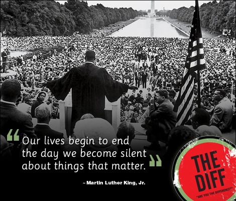 Quicken Loans DIFF Blog wishes you a Happy Martin Luther King Jr. Day!
