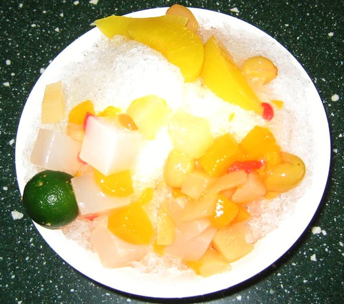 Fruit Cocktail with Calamansi