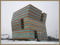"""It's Kold with a """"k"""" (Eber&Mars) Tags: winter snow cold building ice k frost edificio thenetherlands groningen frío hielo escarcha euroborg paísesbajos 5photosaday theunforgettablepictures"""