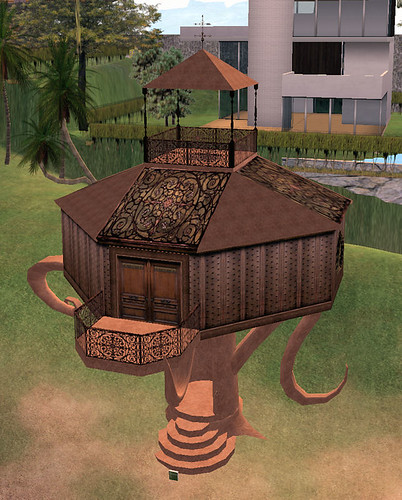 69L Wednesday Crossroads steampunk treehouse