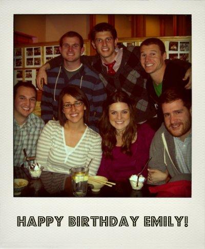 Emily's Bday