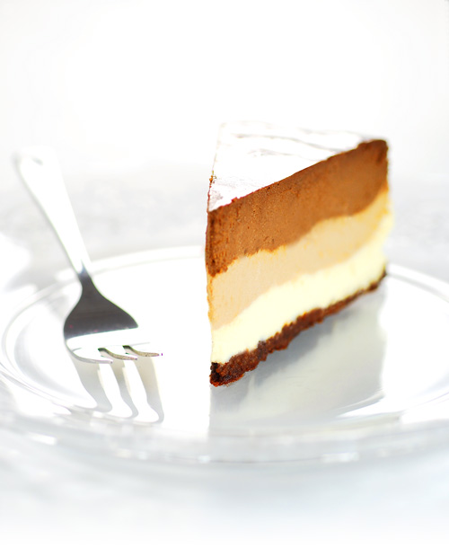 Atlantic Kitchen: Triple chocolate cheesecake