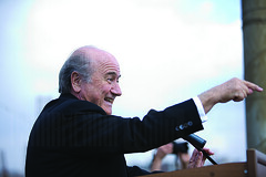 "Head of FIFA Joseph ""Sepp"" Blatter"