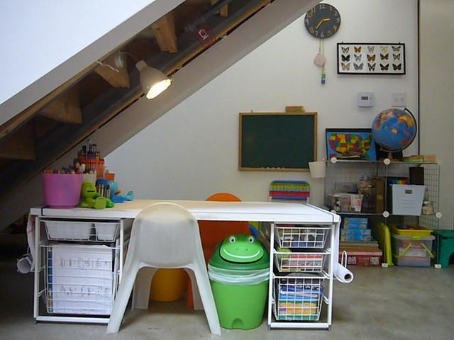 Kids Coloring Table Homeschool