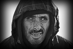 Hassan (RominikaH) Tags: blancoynegro retrato marocco hassan marruecos pescador arrugas tuerto rominikah