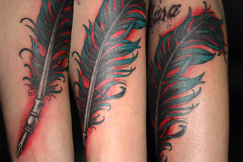ink quill tattoo Tattoos Gallery