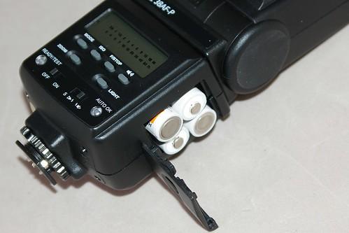 平價的外閃選擇,EXAKTA DPZ 38AF TTL 全自動閃燈