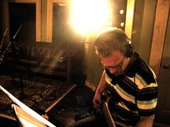 Tracking bass @ Room & Board 2 (ryland.haggis) Tags: studio drums bc bass drummer recording sessions abbotsford recordingstudio bassplayer electricbass rylandhaggis colinbullock furybass samheard anthembass