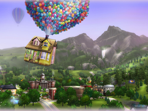 News Soar Up With This Sims 3 Wallpaper Worldsims