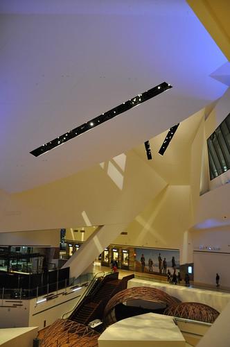 The Non-Euclidean Shopping Mall