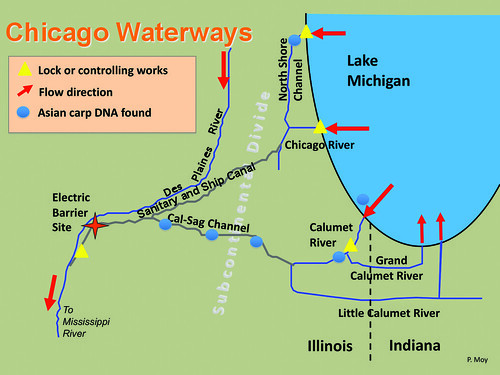 Final Chicago Waterways map