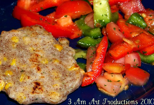 Corn Tortillas & Tomato- Pepper Salsa