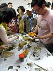 透過PDC種子交換平台,布農族傳統農耕智慧和都市農夫進行交流與對話。