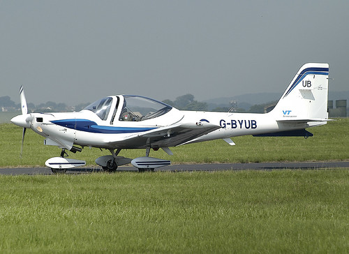 G-BYUB St Athan 080803
