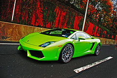 Lambo 560 (Derek Walker Photo (Derk Photography)) Tags: road new york ny green car island photography long rally exotic lp lime lamborghini hdr spotting gallardo exotics derk 5604
