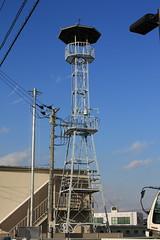 元町の火の見櫓(坂戸市)