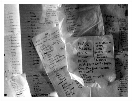 Set lists
