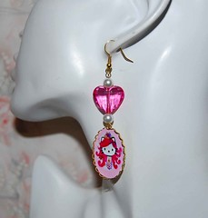 russian (Divina_bijoux) Tags: earrings orecchini tarinatarantino hellokittyrussian