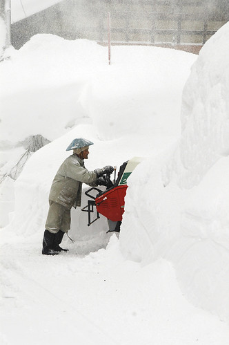 taking care of snow