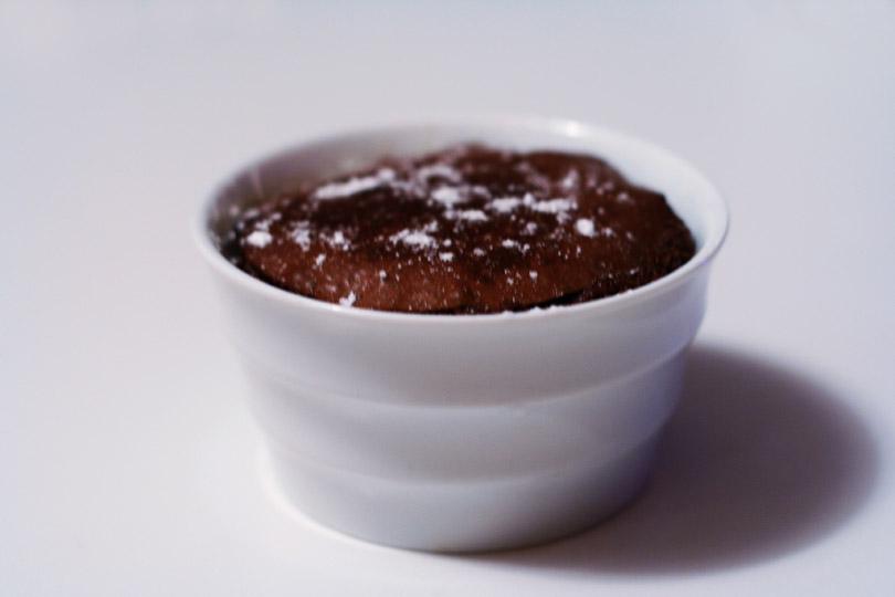 Molten Chocolate Cinnamon Pots