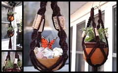 Double Star Vino- Memento <3 (Macramaking- Natural Macrame Plant Hangers) Tags: music plants mountains kitchen beauty vintage happy idea star spring pretty basket wine herbs handmade unique decorative character cork cottage creative fluffy curls northcarolina funky bowl double gift shelby hanging balance flowing chic biltmore brass birthdaygift weavers groovy weddinggift knots memento sunroom swirly beachhouse bolla vino blackstone detailed keepsake christmasgift hangingbasket shabby twisting artscrafts jute banfi frescobaldi containergardening macram veryspecial planthanger alternating cavit mothersdaygifts tapena owlseye macramakin macramaking