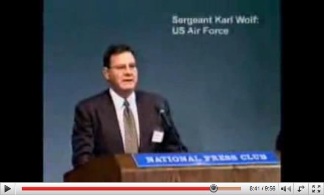 Sergent Karl Wolf US Air Force