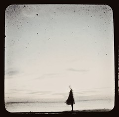 (this fleeting life) Tags: ocean sea girl alone duaflex storypeople ttv 15secexp