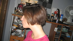 IMG_0856 (raiH enaS) Tags: haircut hair brittany shaved smoking short shorthair buzzednape