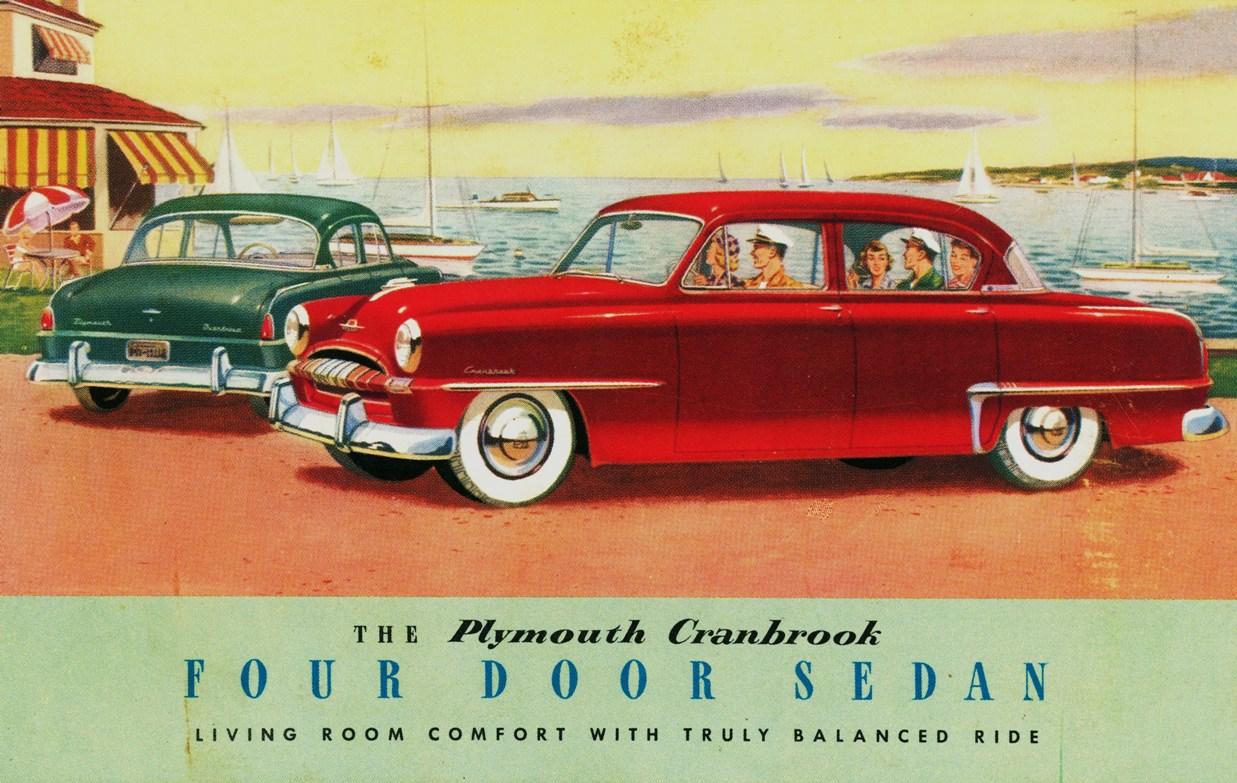 1953 Plymouth Cranbrook Four Door Sedan
