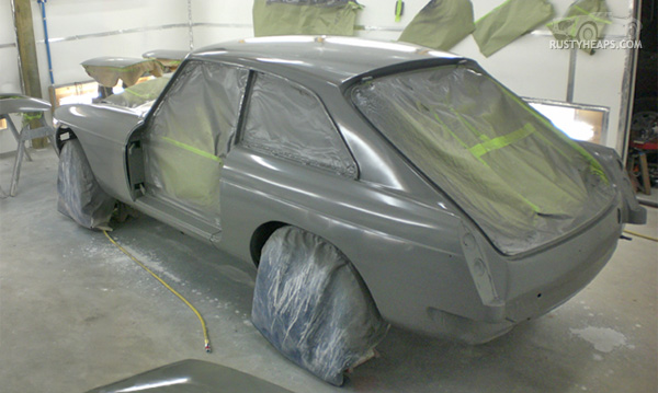 1967 MGB GT Grampian Grey