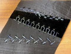 black 4 (Jo in NZ) Tags: crazyquilting tumblingblocks treatments nzjo embroideryseam