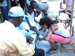 Haiti - Cura en la montaña
