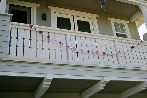 the loooooong heart garland