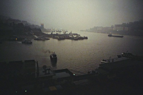The Ferry Docks - Chongqing, China