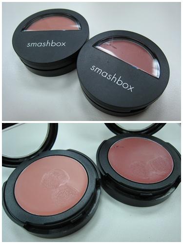 你拍攝的 SMASHBOX_裸吻唇頰霜。