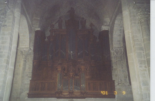 2001-03-09 Carcassonne France (l'eglise Saint-Nazaire (organ circa 1522))