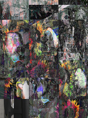 Urban Flower Collage (Tim Noonan) Tags: flowers abstract art collage digital photoshop dark pattern manipulation pop silkscreen bleed hypothetical artdigital newreality maxfudge awardtree maxfudgeexcellence maxfudgeawardandexcellencegroup magiktroll exoticimage