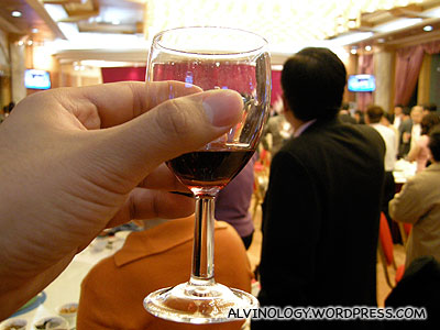 A toast to the host