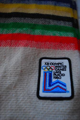 olympics scarf