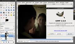 gimp100podcast-14 : Reflejando fantasmas en el espejo / Reflecting ghosts in the mirror