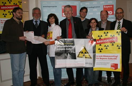 2010-02-20 | Atomausstiegs-Kampagne der BayernSPD in Niederbayern gestartet