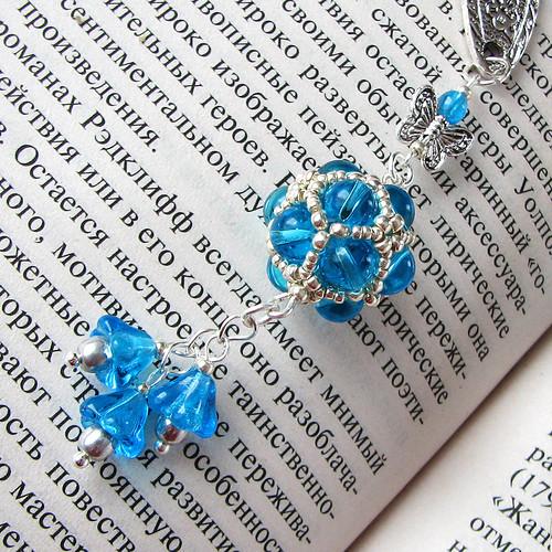 bookmark Blue Garden