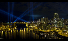 Panoramic Elevation (ecstaticist) Tags: city winter urban canada hockey sport vancouver speed canon code athletics cityscape skiing skating culture competition columbia spotlight explore international british olympics elevation lightshow frontpage cultural 2010 vectorial olympiad vancouver2010 athleticism g10 tnmh