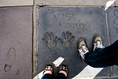 starry (sevenworlds16) Tags: california fun losangeles theatre chinese footprints southern hollywood touristy graumans georgeclooney handprints