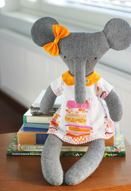 Princess the rag-elephant